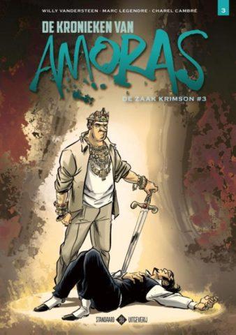 Kronieken van Amoras 3, Zaak Krimson