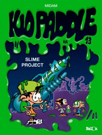 Kid Paddle 13, Slime project, 9789462100046