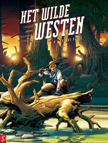 Het wilde westen 4, Kansas River, 9789463065641