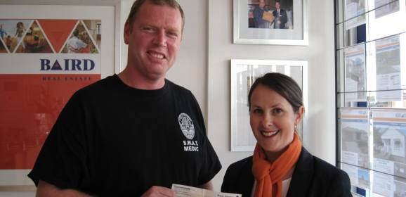 Cessnock Ambos Donate $1045 to Strive For Autism