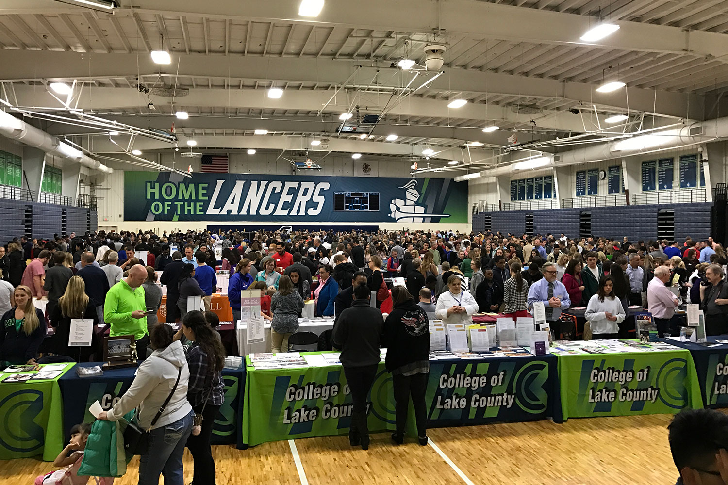 College Of Lake County Spring College Fair Attendance Exceeds Expectations