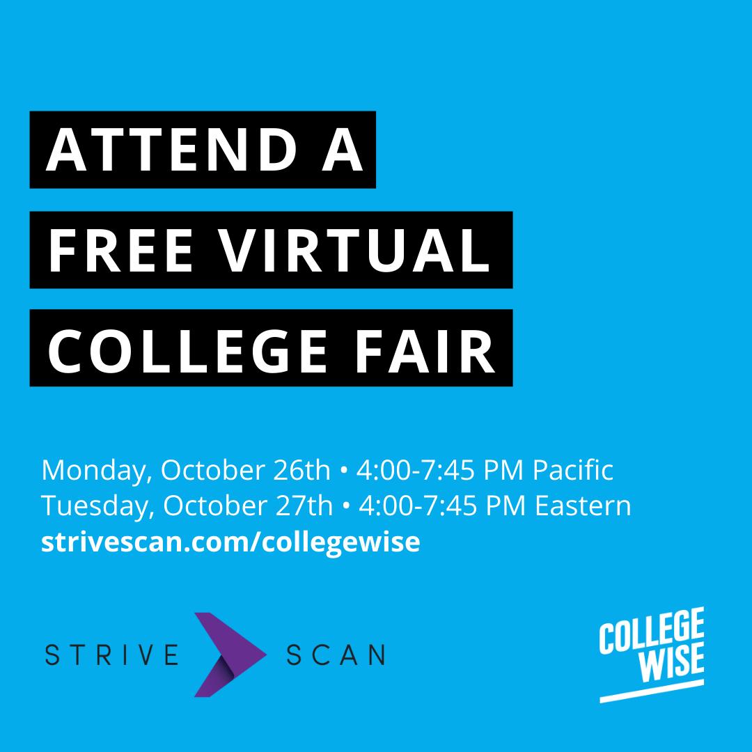 Collegewise College Fair Marketing Toolkit