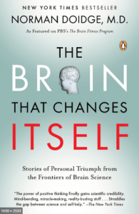 The Brain That Changes itself is an excellent book on the brain's neuroplastic abilities and our ability to retrain our brains.