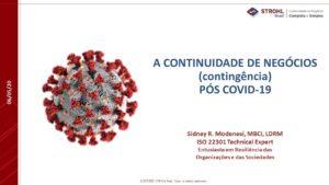A Continuidade de Negócios Pós Covid-19