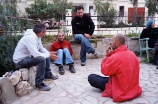 Herbert Gruber, Manolis Ximeris, Spiros Panagos, Christos Choraitis