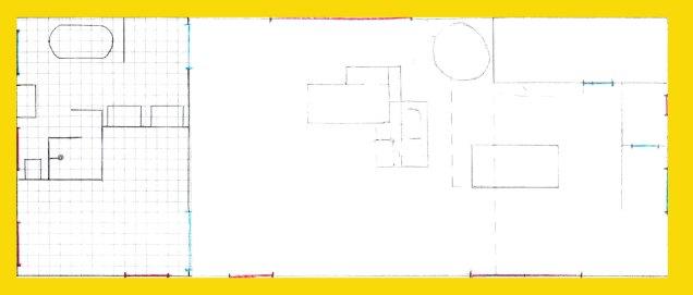 Entwurf-Skizze für Neubau EG: Funktionen