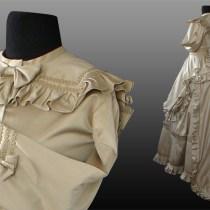 Suknia z Tuniką z XIX wieku (1869r)
