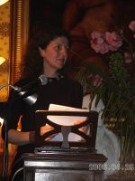 Maura Dooley reads at Strokestown 2006