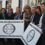 At the launch of strokestown.ie