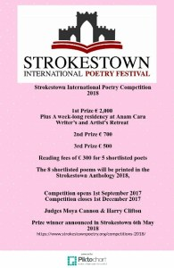Strokestown International Prize 2018