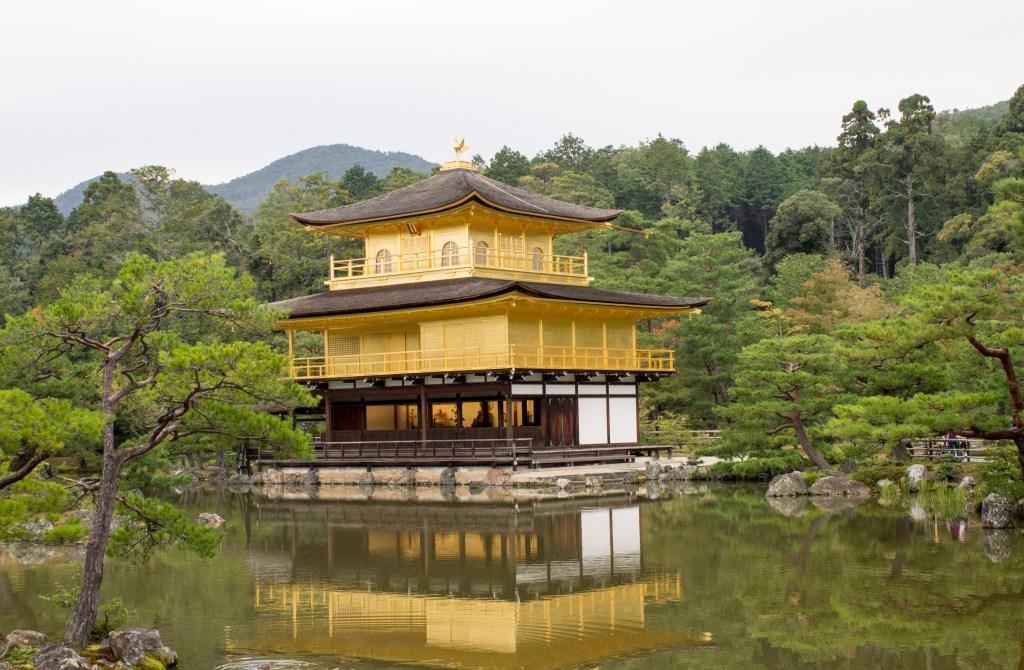 Golden pavilion and Arashiyama