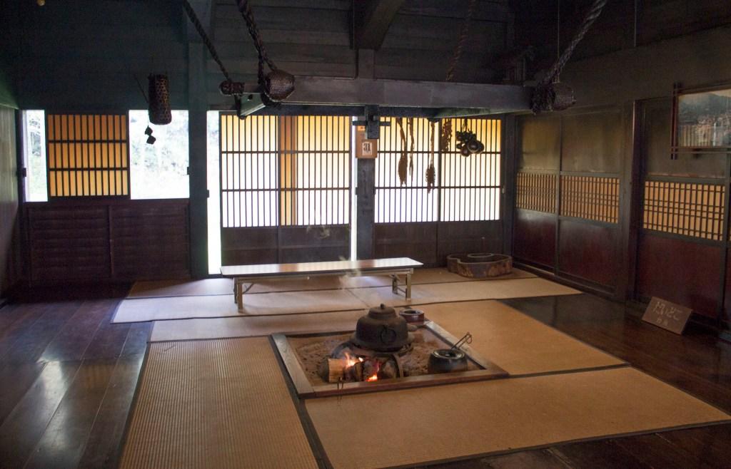irori, shirakawa-go