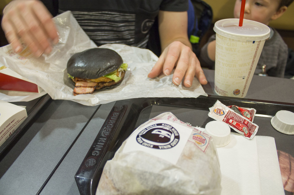 Black Ninja Burger