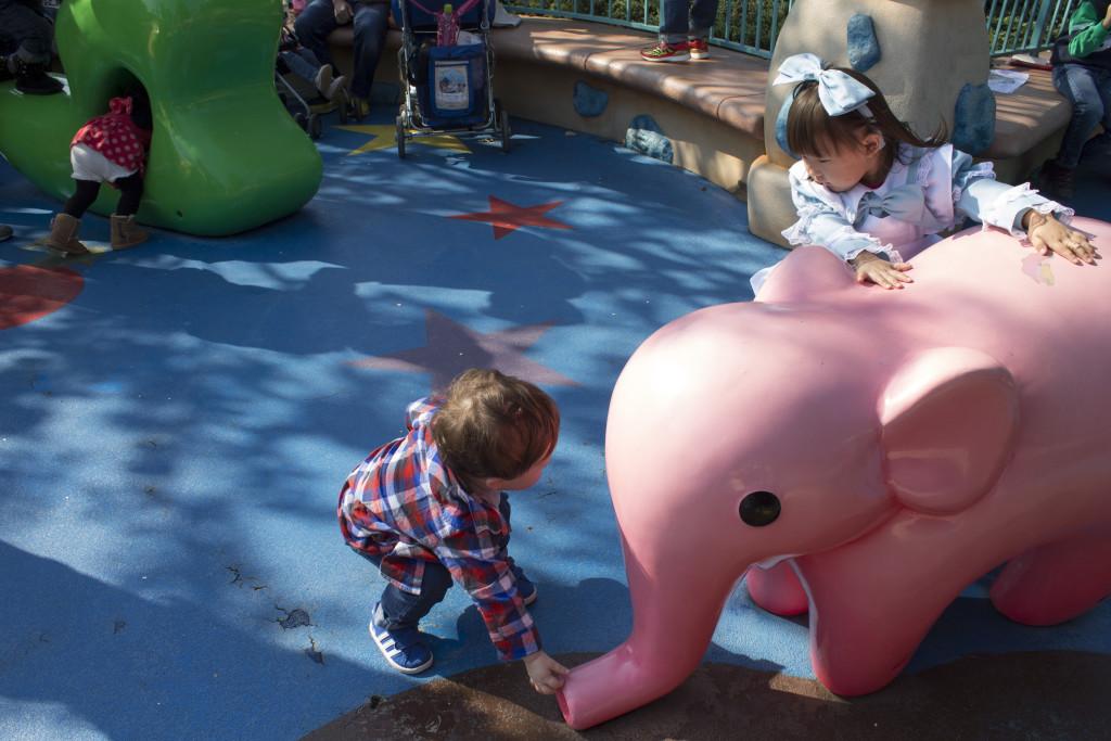 Tokyo Disneyland with young kids