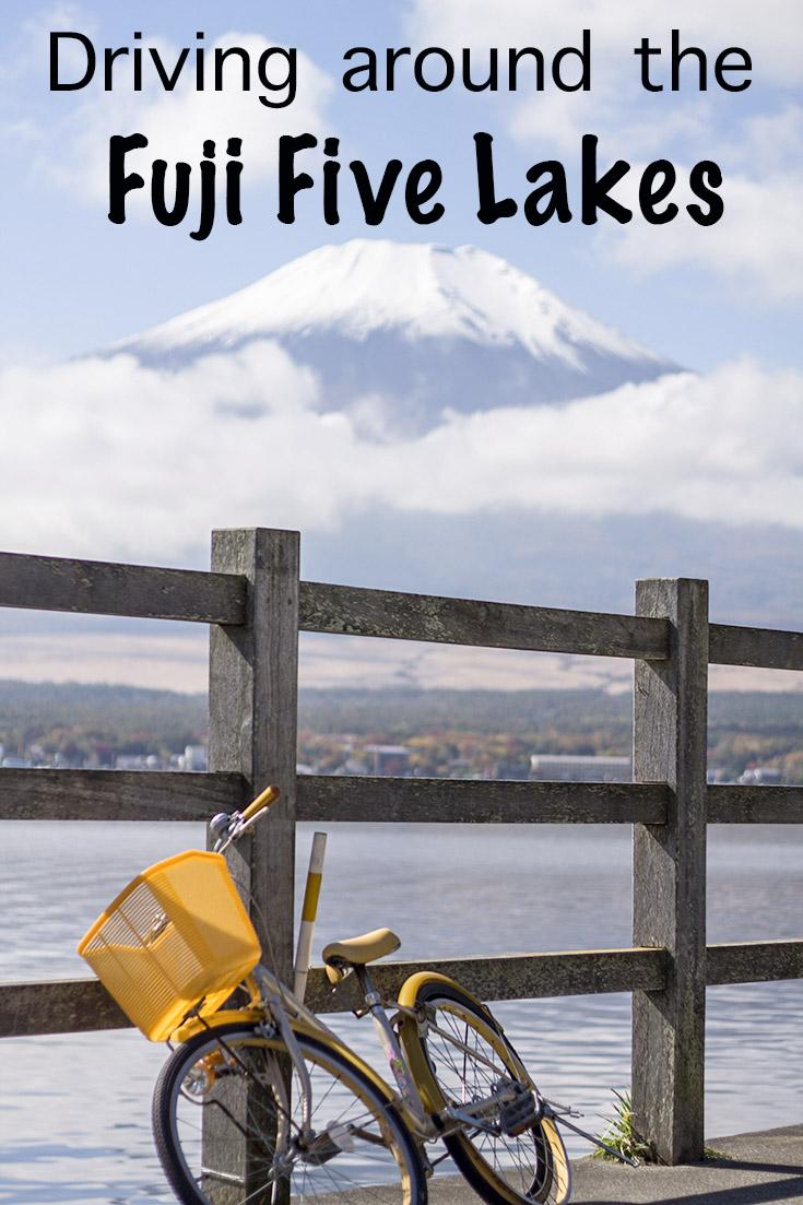 Driving around the Fuji Five Lakes