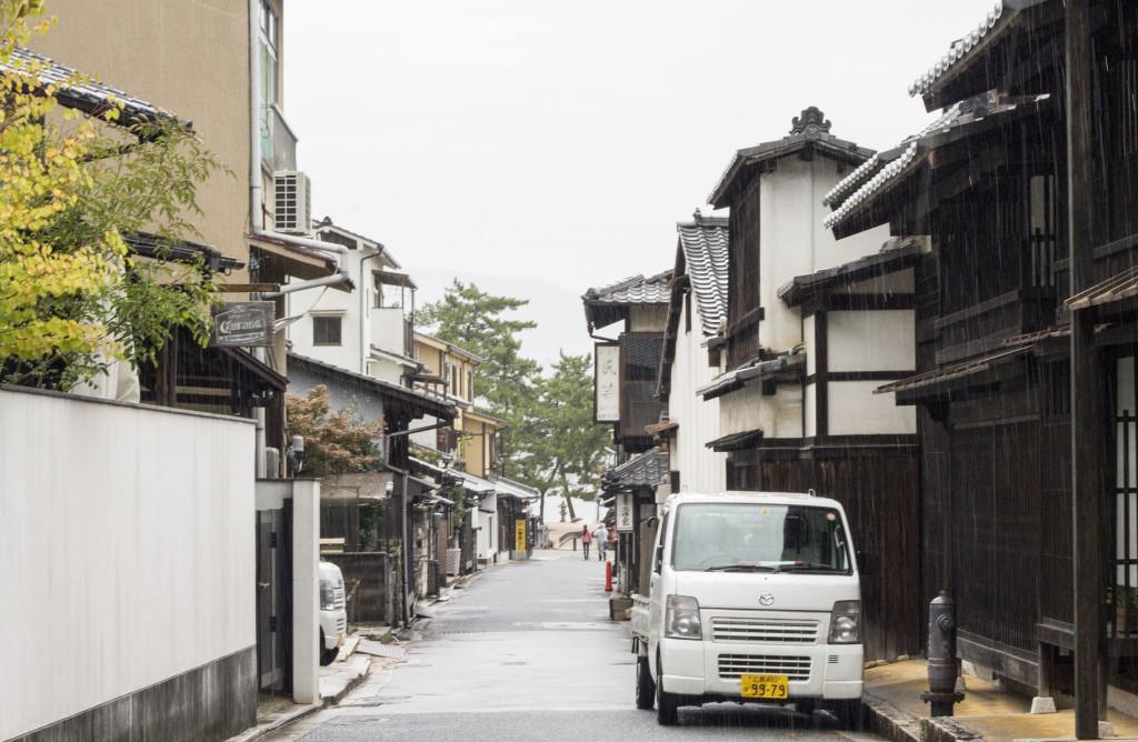 street in Miyajima
