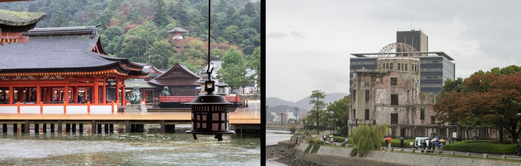 Japan itinerary Miyajima and Hiroshima