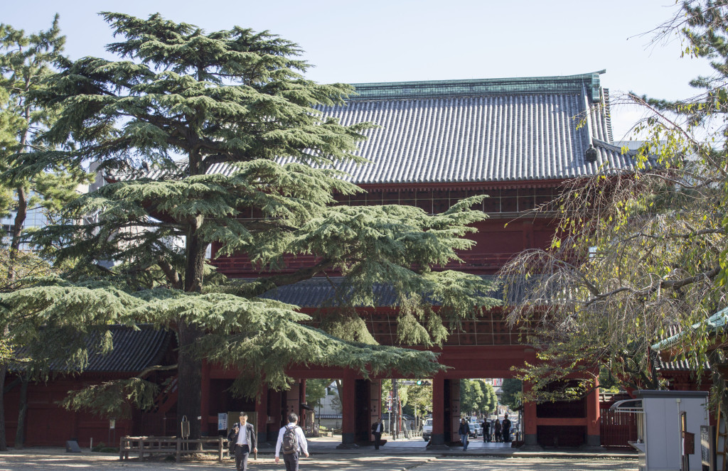 Zojoji Temple main gate