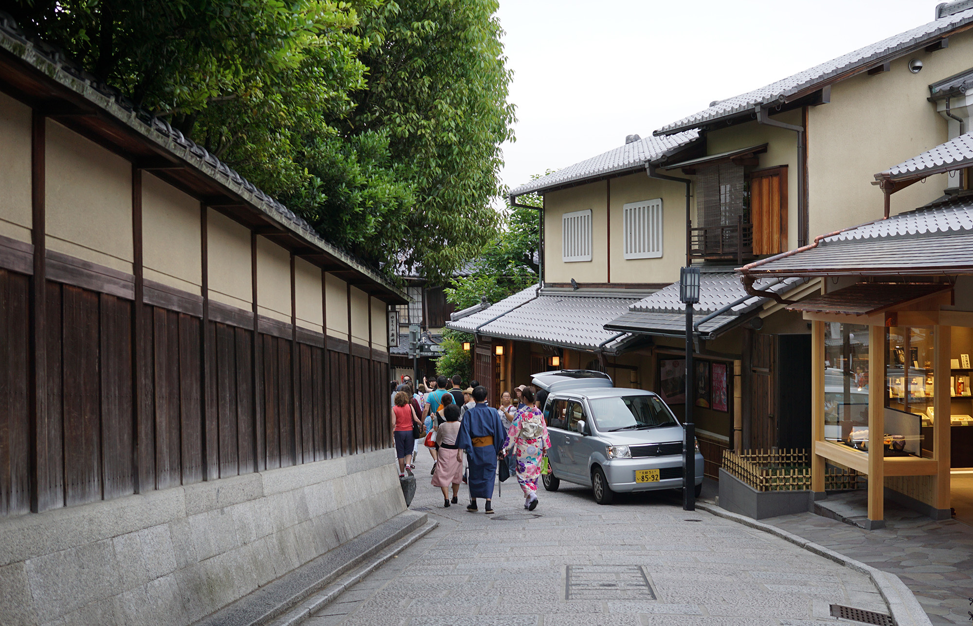 walking around Higashiyama