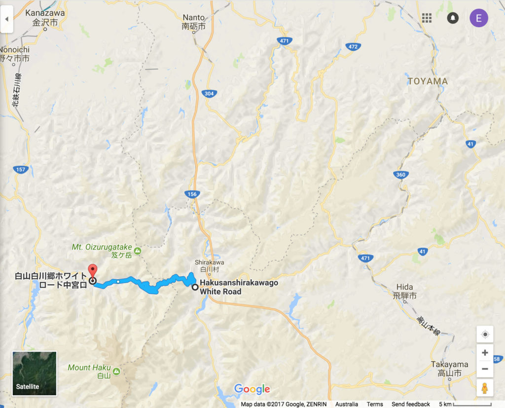 Hakusan Shirakawa-go White Road