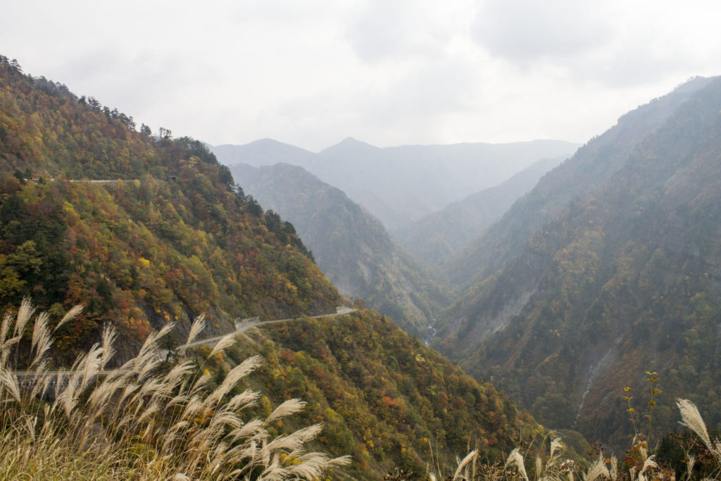 Hakusan white road