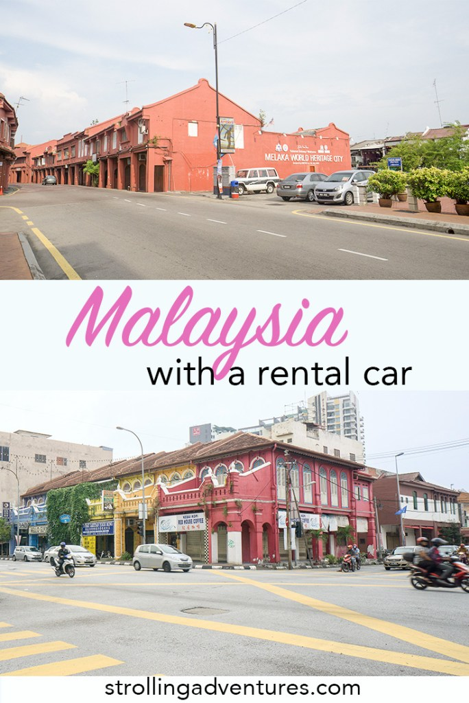 Driving in Malaysia with a rental car