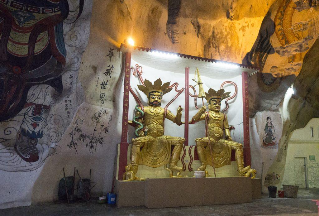 Inside Perak Tong