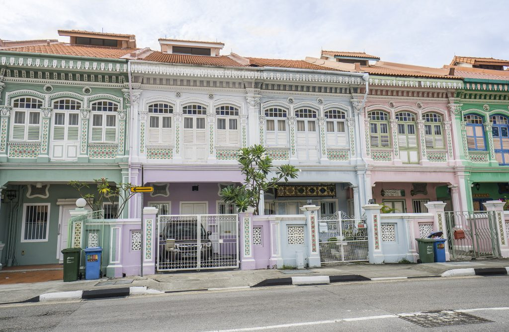 Peranakan Houses Singapore