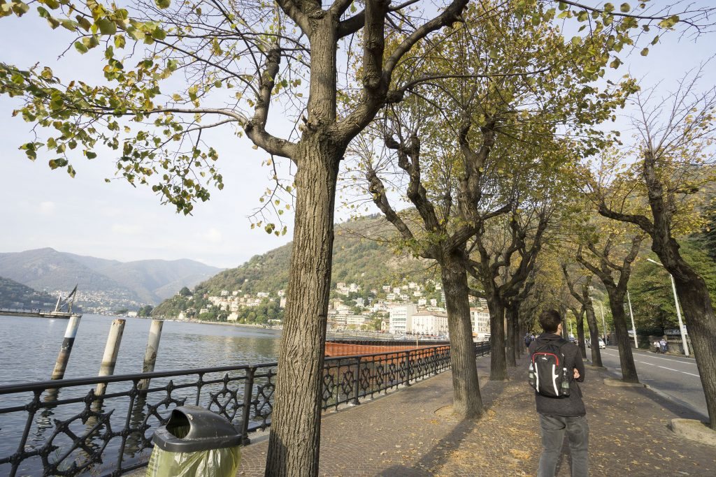 Lake Como in October
