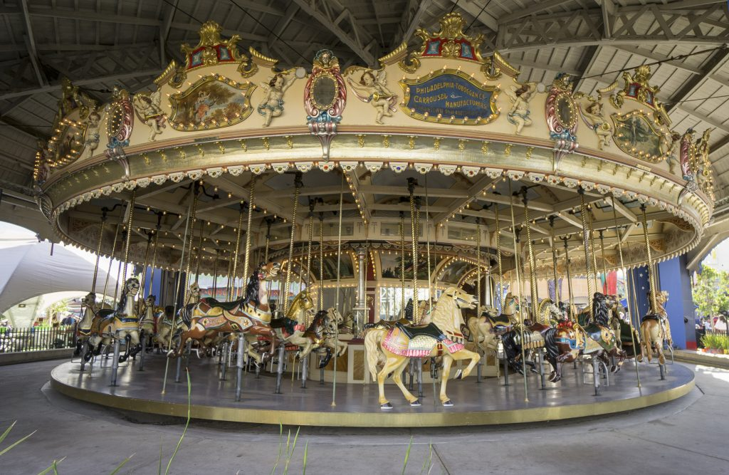 Luna Park St.Kilda Carousel