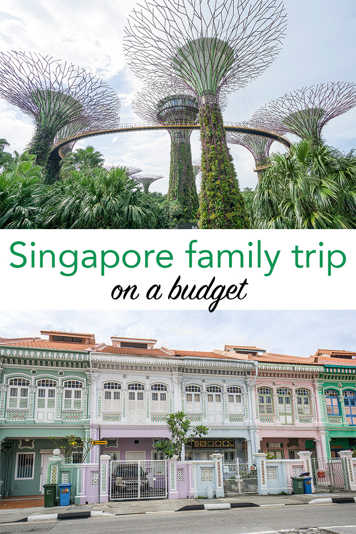 Singapore family trip on a budget