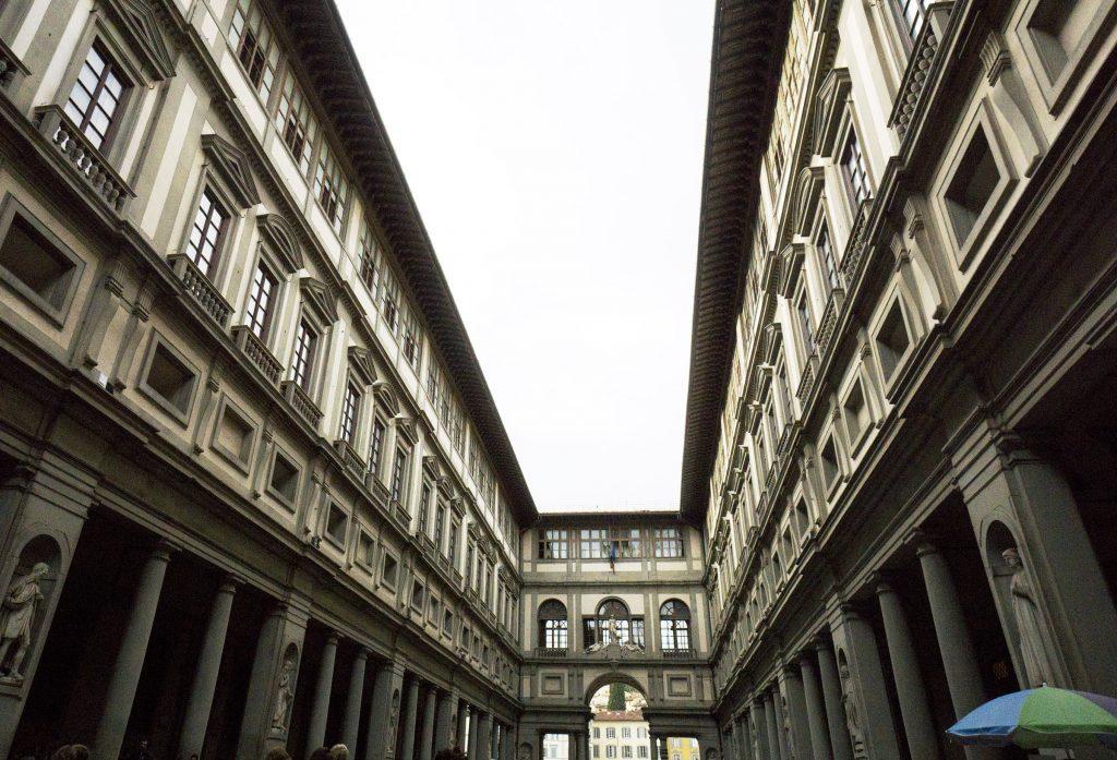 Uffizi exterior