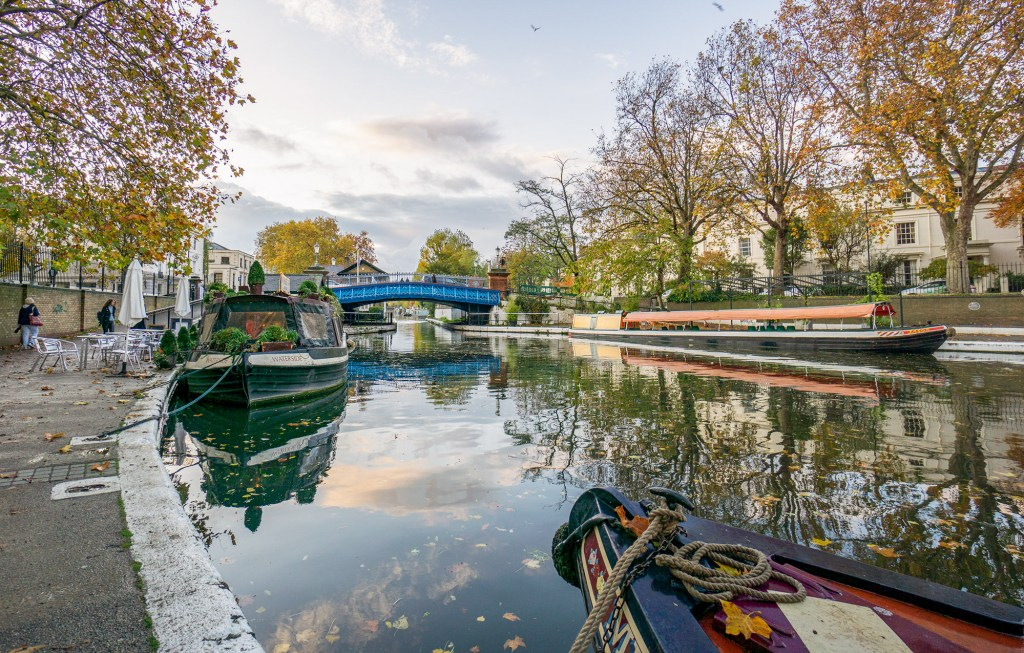 Little Venice Paddington Locations