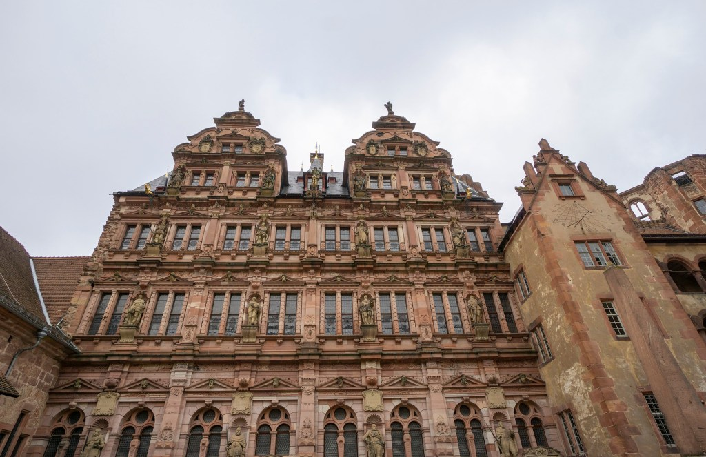 Friedrich building at Schloss Heidelberg