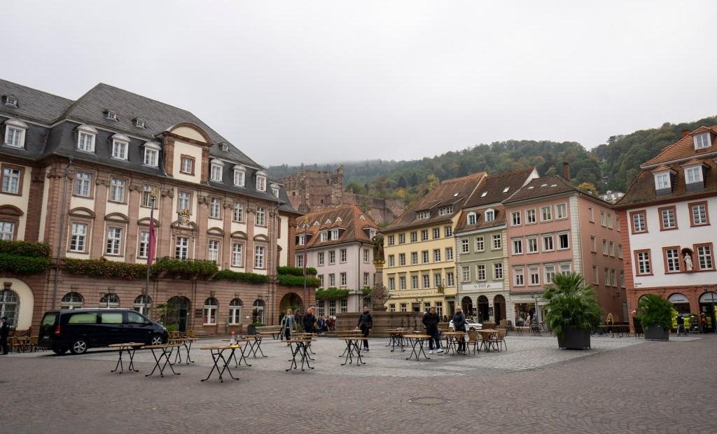 Heidelberg's MarktPlatz