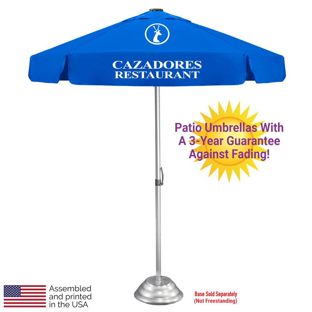 the vented bistro patio umbrella
