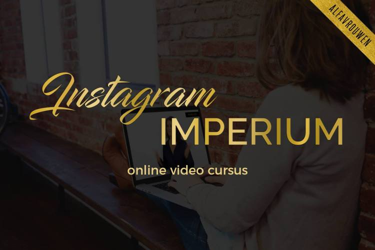 Opleiding - online cursus Instagram