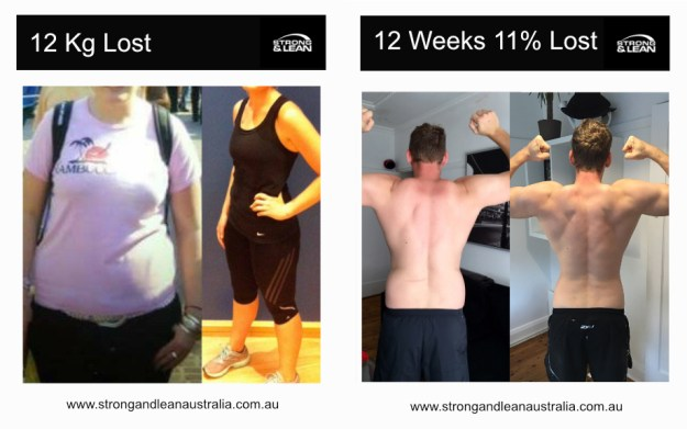 before and after personal trainer bondi