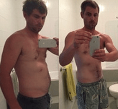 personal trainer - Sydney -Josh – Lost 10kg in 6 Weeks,
