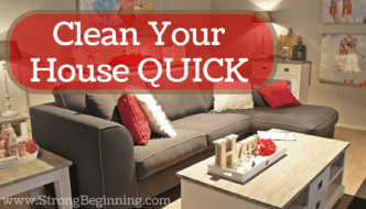 Clean Your House QUICK