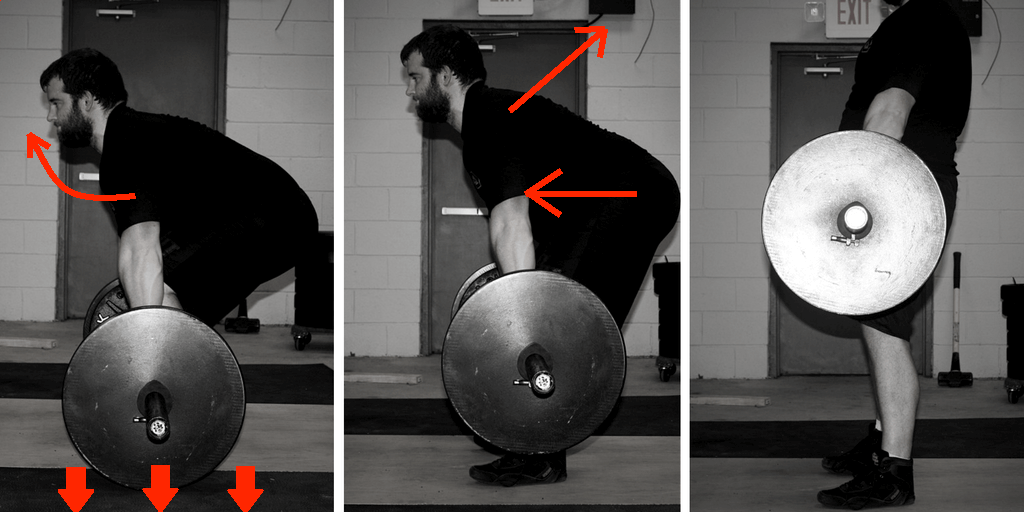 How to deadlift in the conventional deadlift