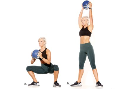 Image result for Sumo Squat with Medicine Ball