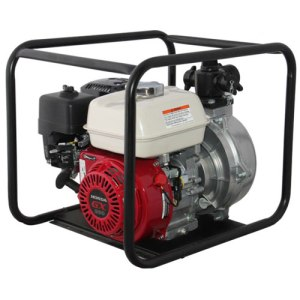 Electric Start Water Transfer Pump with Roll Frame