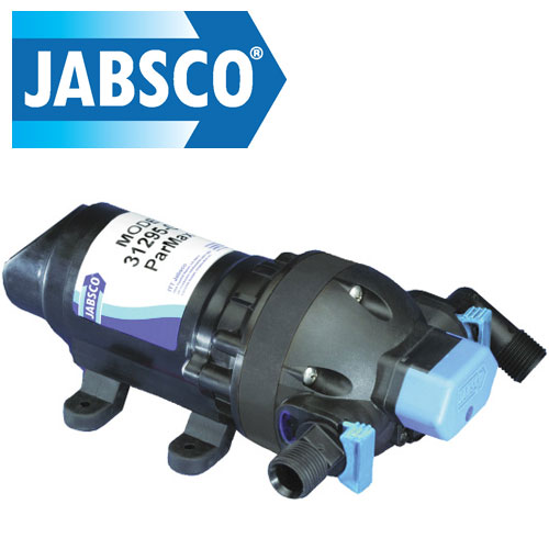 Jabsco J20-102 Automatic inline freshwater pressure pump 12V DC