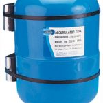Jabsco accumulator tanks used in pressure pump systems