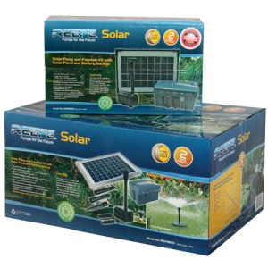 RSFP range of Solar Water Fountain, Pond and Feature Pumps