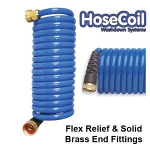 HP HoseCoil Hose. The hoseCoil deck washdown hose