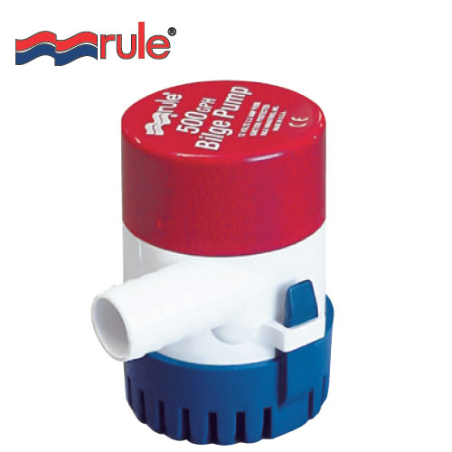 Rule 500 12v manual bilge pump. Small 24V Manual Bilge Pump