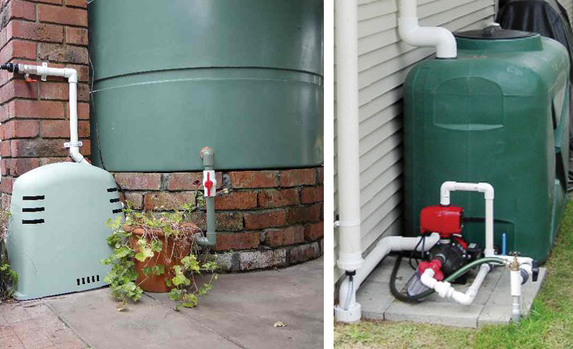what you need to look for when buying a pump for your rainwater tank