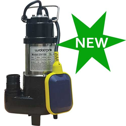 submersible vortex sump pump
